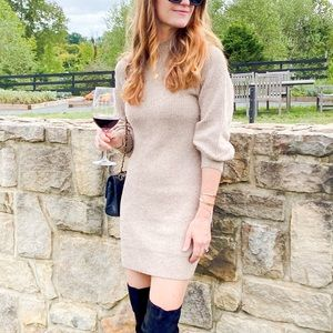 Abercrombie + Fitch sweater dress